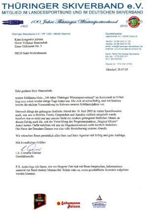 2005 Thüringer Skiverband 100 Jahre