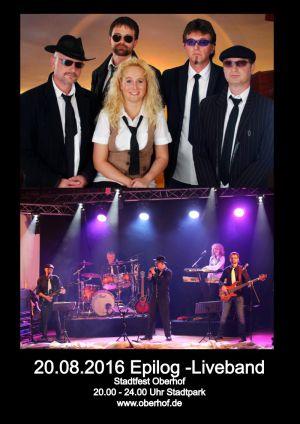 20.Aug 2016 Epilog Liveband Oberhof