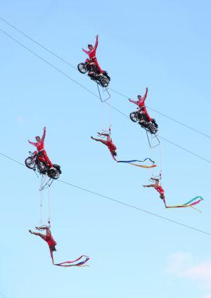 Geschwister Weisheit ® - Motorradshow (Foto)
