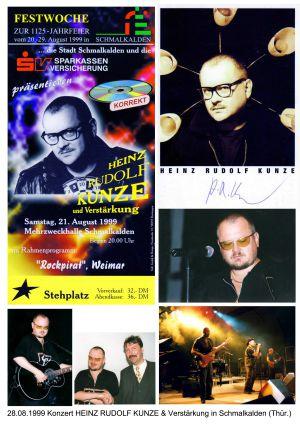 20. 28.08.1999 Konzert Heinz Rudolf Kunze