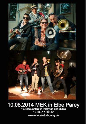 10. Aug. 2014 MEK in Elbe Parey