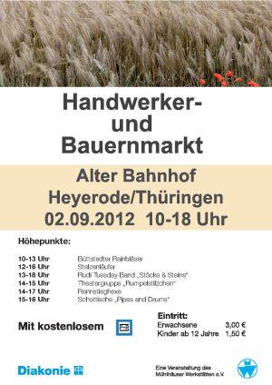 02.09.2012 Bauernmarkt Heyerode