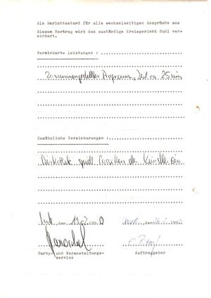 06. 1990 Erster Ost-Mark Vertrag-II