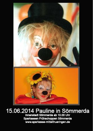 15. Juni 2014 Pauline in Sömmerda