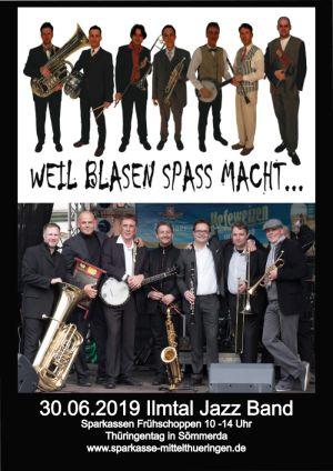 30.Juni 2019 Ilmtal Jazz Band Sömmerda