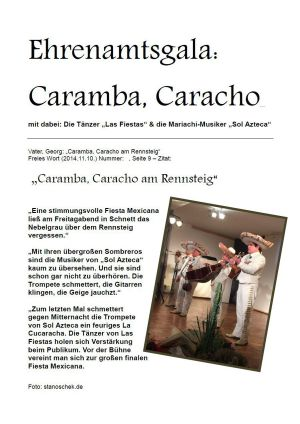 10.11.2014 Ehrenamtsgala: Caramba - Caracho