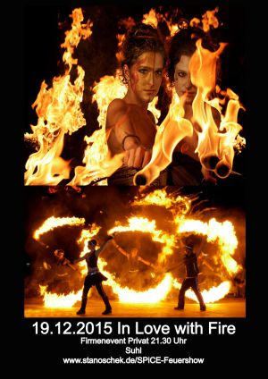 19.Dez.2015 In Love With Fire Firmenevent