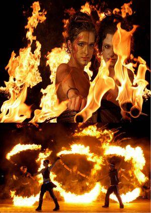 SPiCE Feuershow