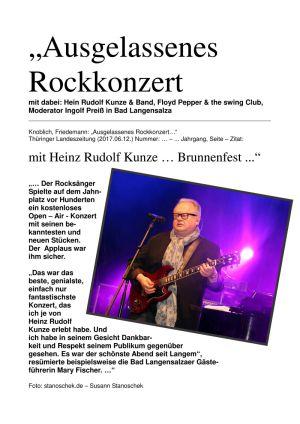 09.06.2017 Heinz Rudolf Kunze | BaLa