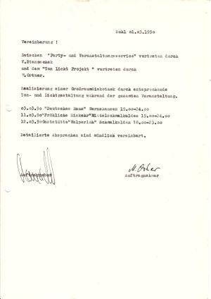 07. 1990 Zweiter Ost-Markt Vertrag