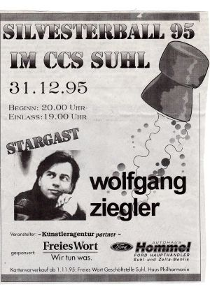 15. 1995 Silvesterball im CCS