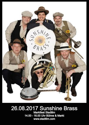 26.Aug. 2017 Sunshine Brass - Stadtilm