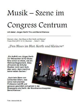 12.12.2013 Musik-Szene mit J.Kerth & B.Kleinow