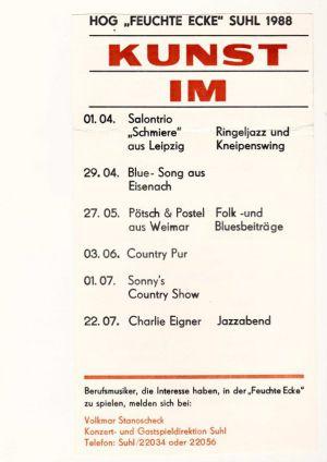 02. 1988 Kunst im Dunst - Feuchte Ecke