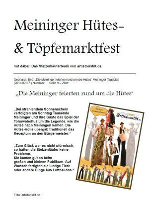 07.07.2014 Hütesfest mit artistonstilt.de