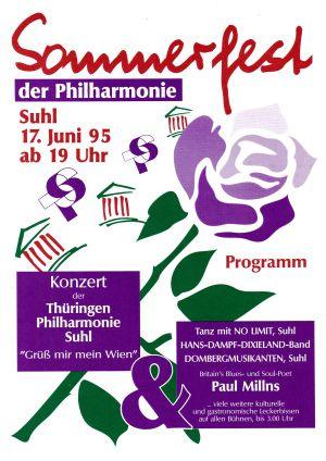 14. 1995 Sommerfest d Philharmonie Suhl