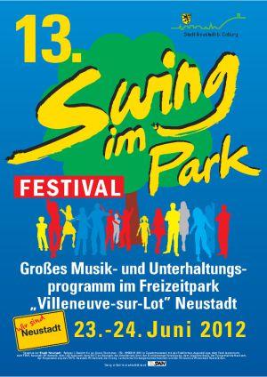 Juni 2012 Swing im Park